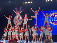 Butler Cheer Finishes 11th in the Nation